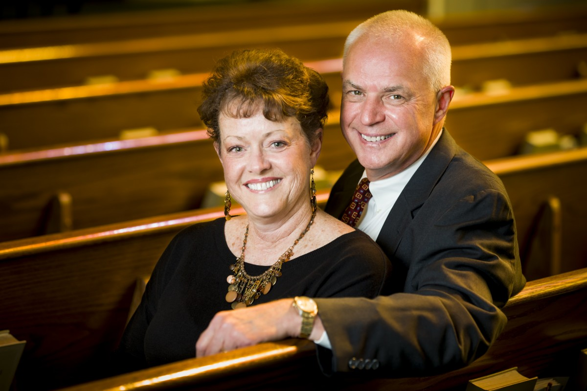 Dr. Frank Crawford and his wife, Janet Crawford
