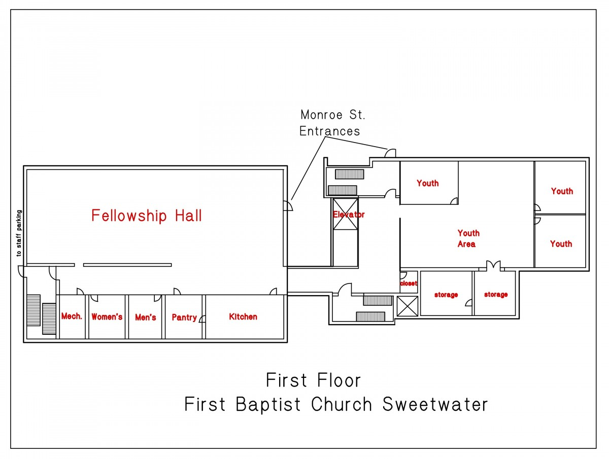 Church 1st floor
